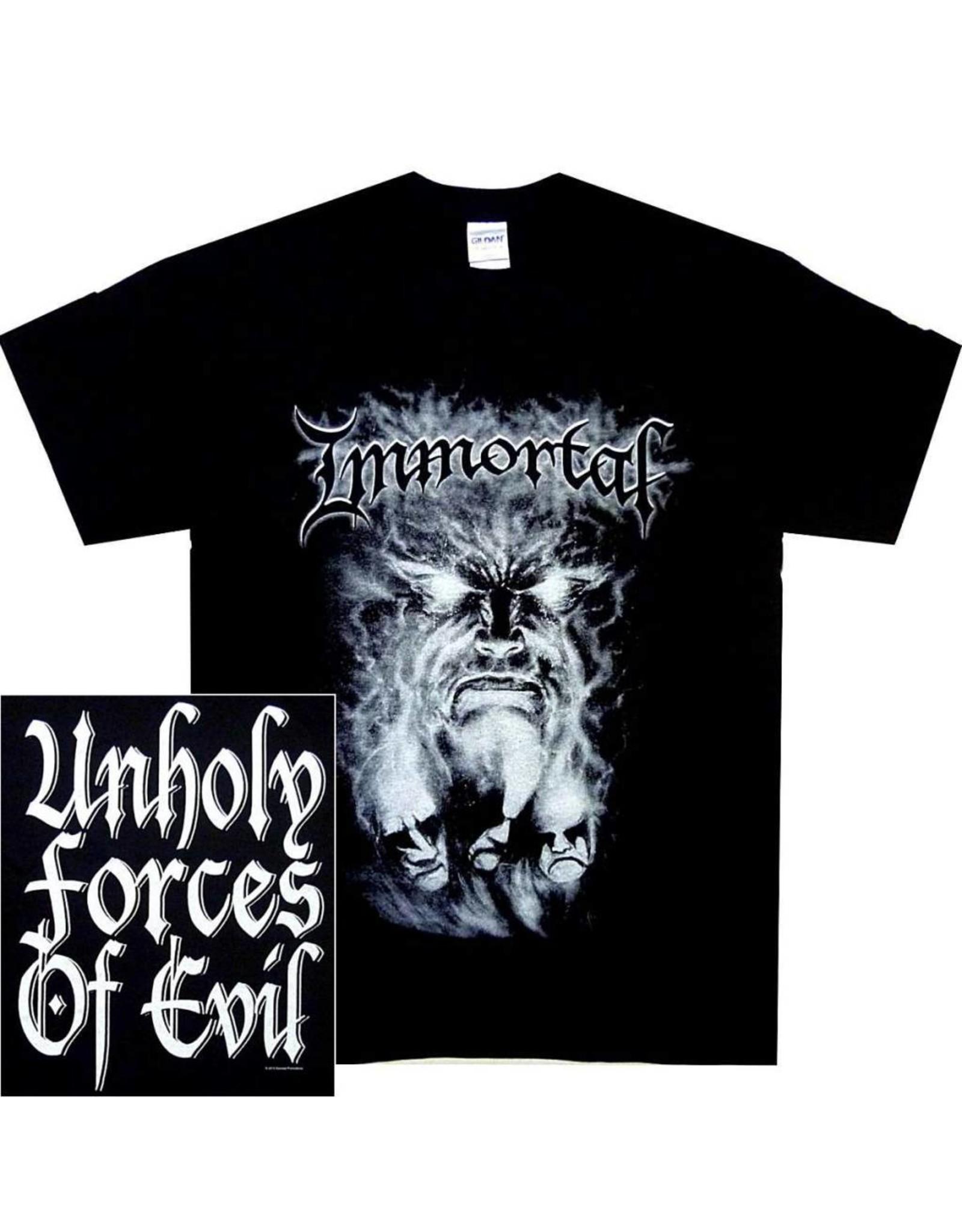 Immortal Gray Face Shirt