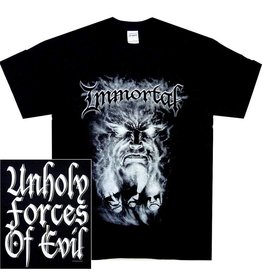 Immortal Gray Face Shirt