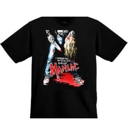 Maniac I Warned You Shirt
