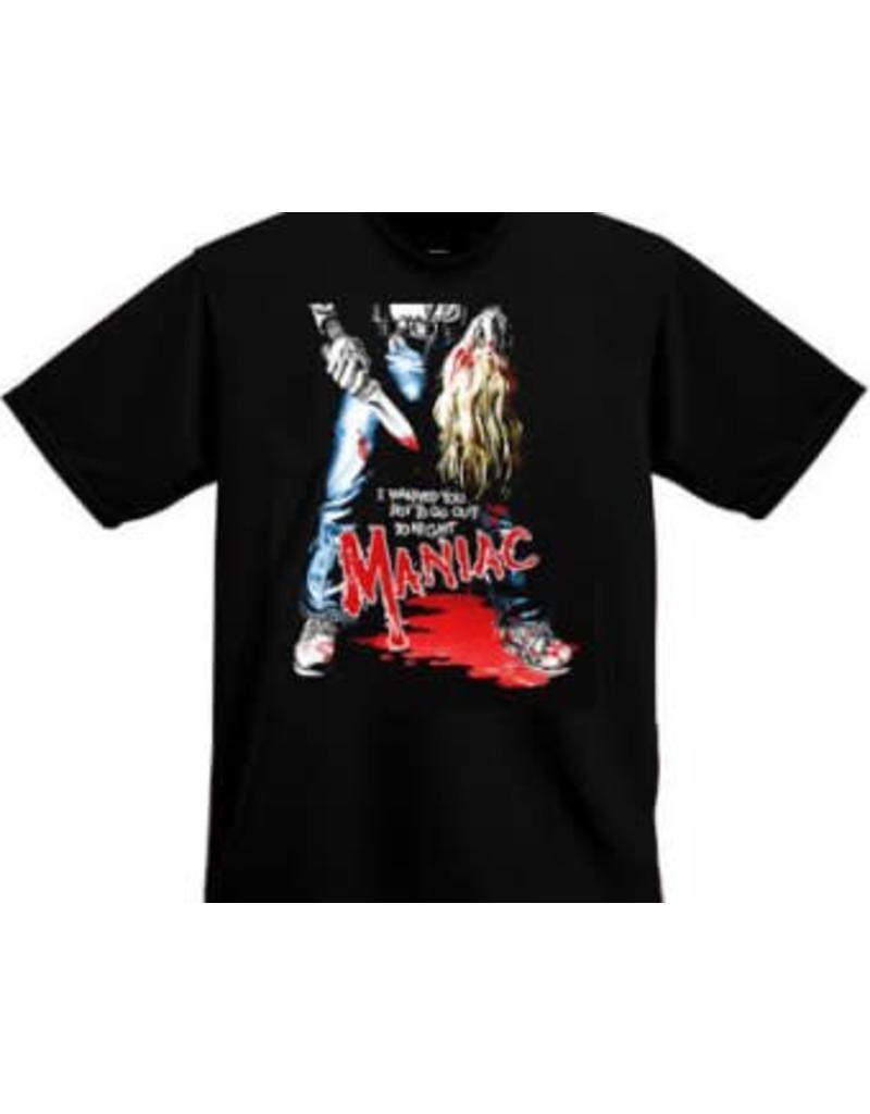 Maniac I Warned You Shirt