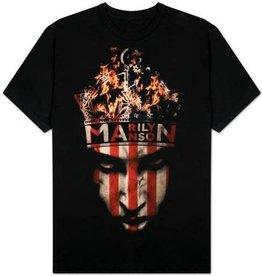 Marilyn Manson Fire Shirt