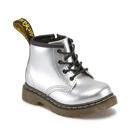 DR. MARTENS BROOKLEE B INFANTS BOOT SILVER Y400S-R15933040