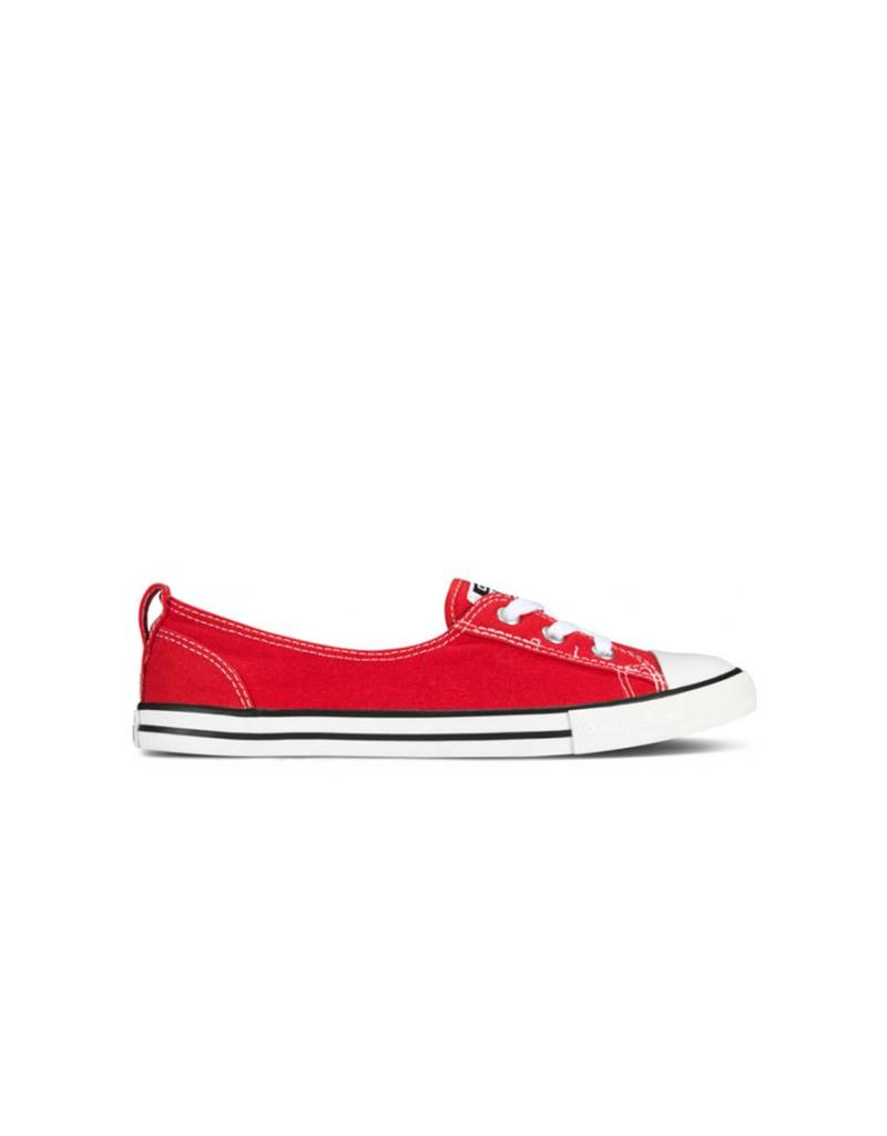 CONVERSE CHUCK TAYLOR BALLET LACE SLIP RED C583CR-547166C