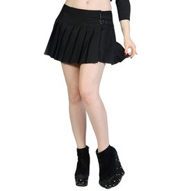 BANNED BANNED - Plain Black Mini Skirt