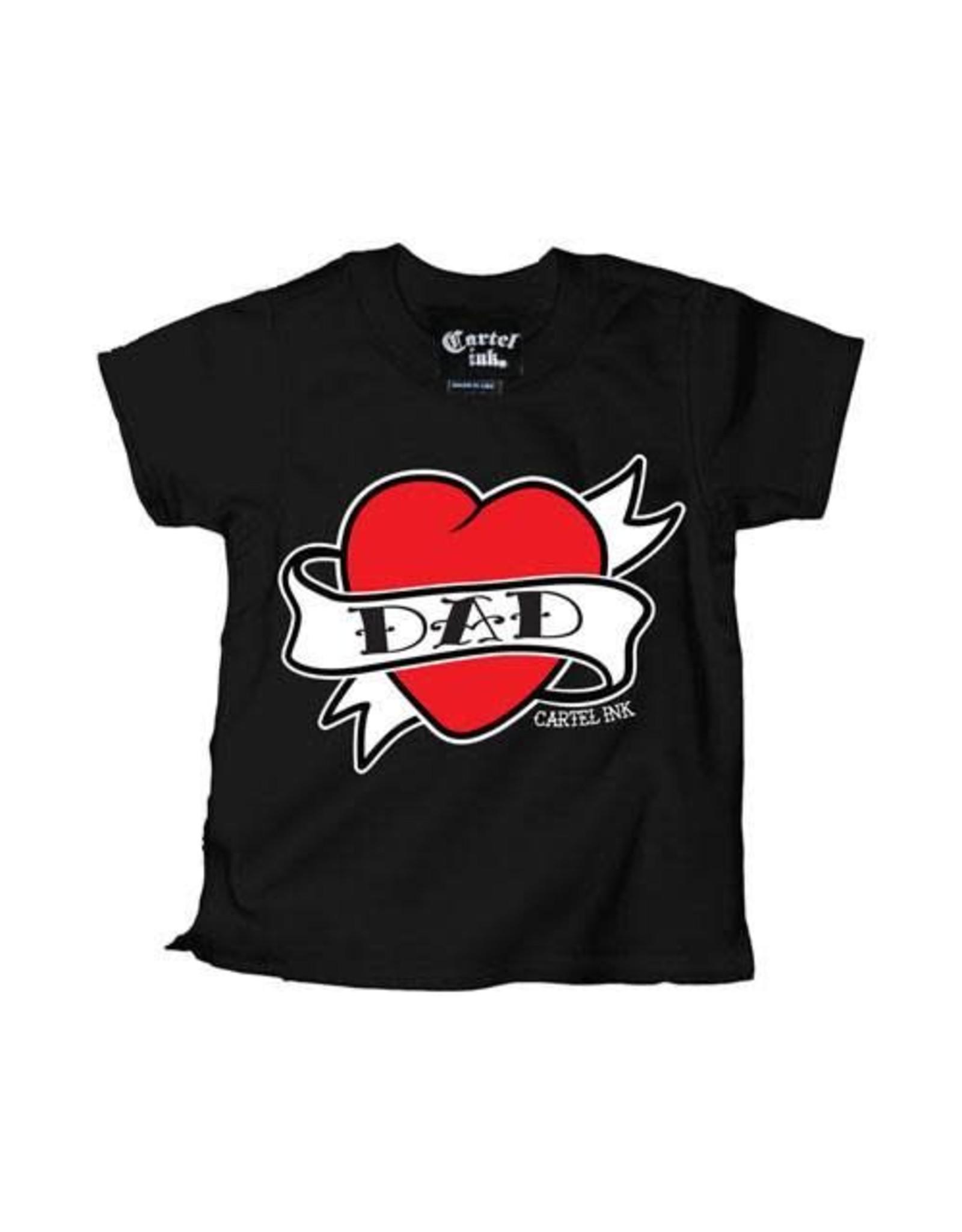 CARTEL INK - Dad Heart Tattoo Tee