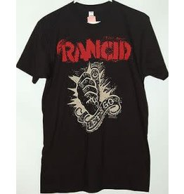 Rancid Let's Go Beige Print Shirt