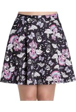 HELL BUNNY - Candy Goth Skirt