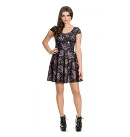 HELL BUNNY Dark Sea Mini Dress