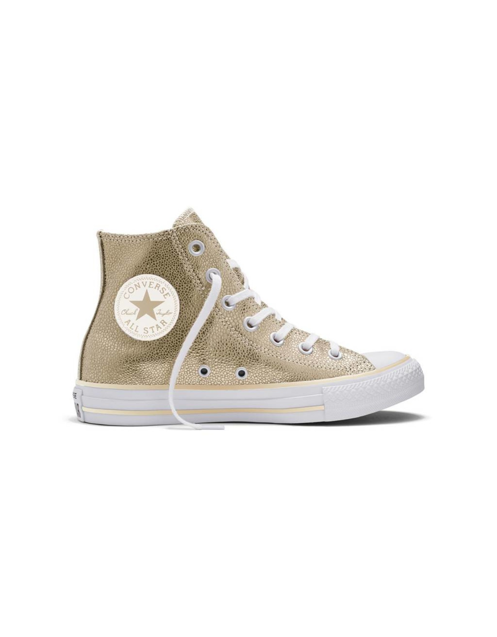 CONVERSE CHUCK TAYLOR STINGRAY METALLIC HI LIGHT GOLD C16MEG-553344C