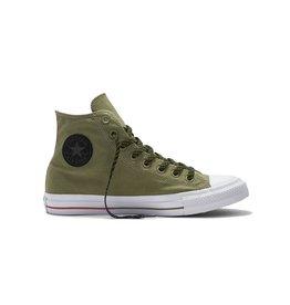 CONVERSE CHUCK TAYLOR HI FATIGUE GREEN/WHITE/SIGNAL RED C16GRE-153795C