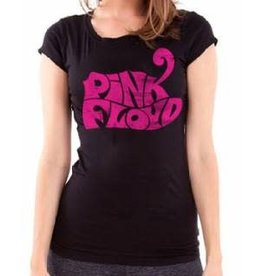 Pink Floyd Pink Logo Tiny