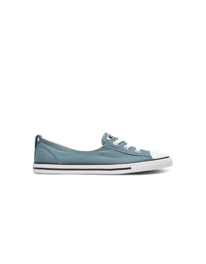 CONVERSE CHUCK TAYLOR ALL STAR BALLET LACE SLIP SEASIDE BLUE BLACK C683SEA-551502C