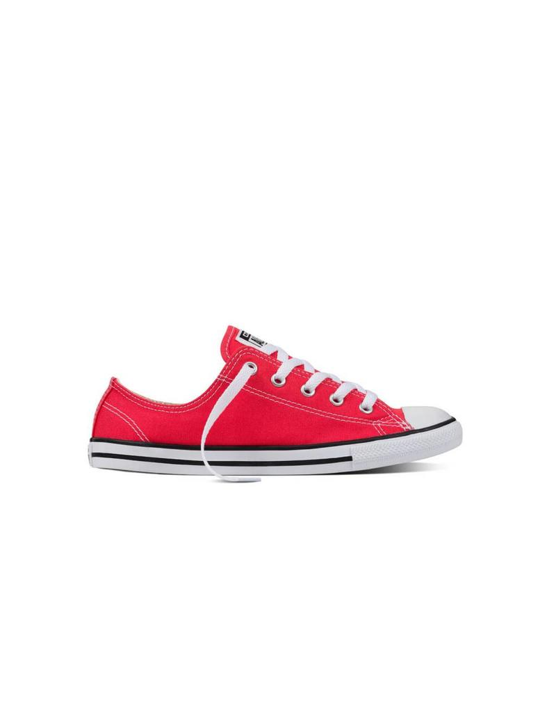 CONVERSE CHUCK TAYLOR DAINTY OX ULTRA RED/BLACK/WHITE C740DUR-555987C