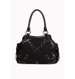 BANNED Banned Black Pentagram Bag