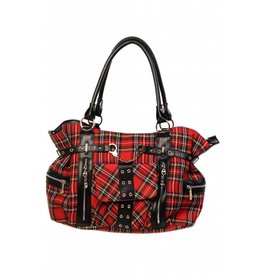 BANNED - Rise Up Tartan Bag