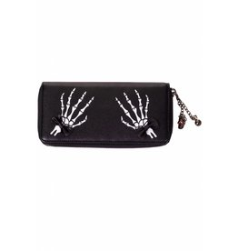BANNED - Skeleton Hands + Bows Wallet
