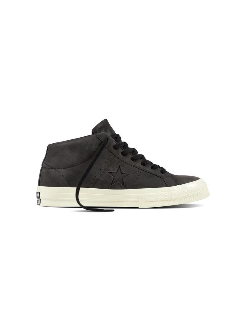 CONVERSE ONE STAR MID BLACK/BLACK/EGRET CS787MBE-157704C