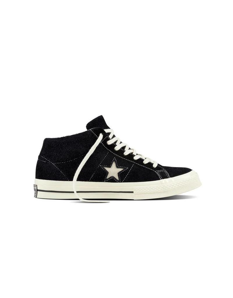 CONVERSE ONE STAR MID BLACK/EGRET/EGRET CS787MB-157701C