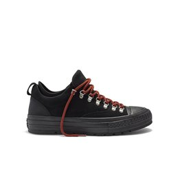 CONVERSE CHUCK TAYLOR DESCENT OX BLACK/BLACK/SIGNAL RED CS634DB-153684C