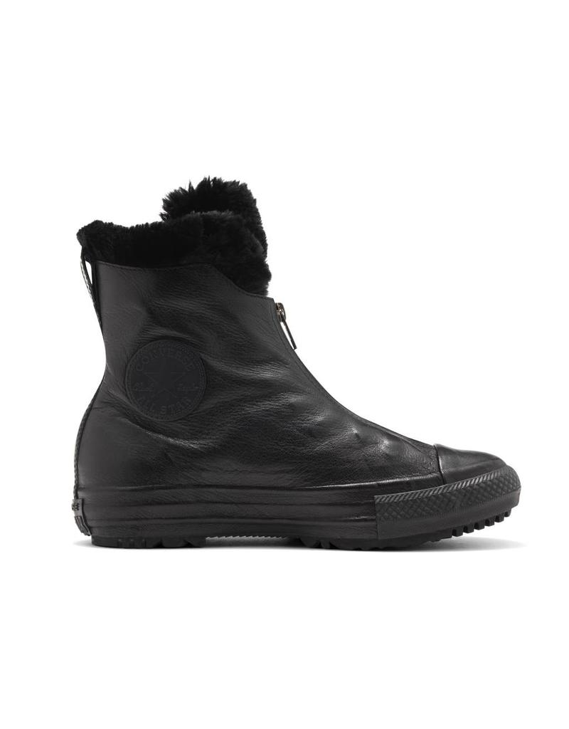 CONVERSE CHUCK TAYLOR BOOT SHROUD LEATHER X-HI BLACK CC16SFB-553350C