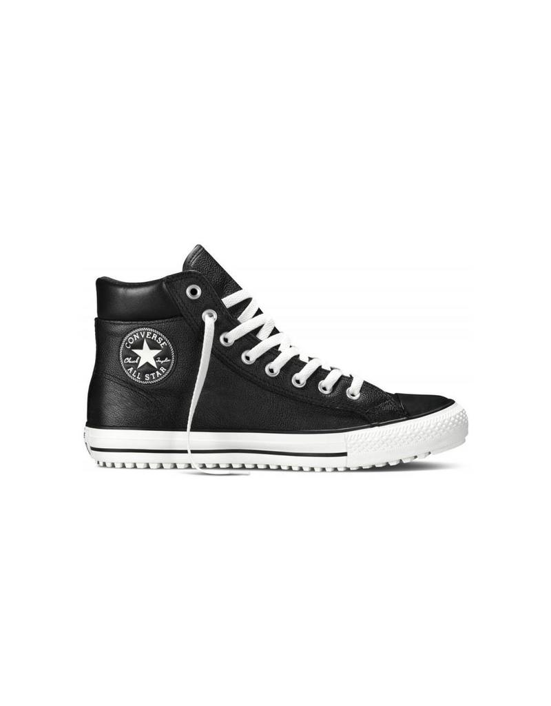 CONVERSE CONVERSE BOOT HI BLACK LEATHER CC15BB-149387C