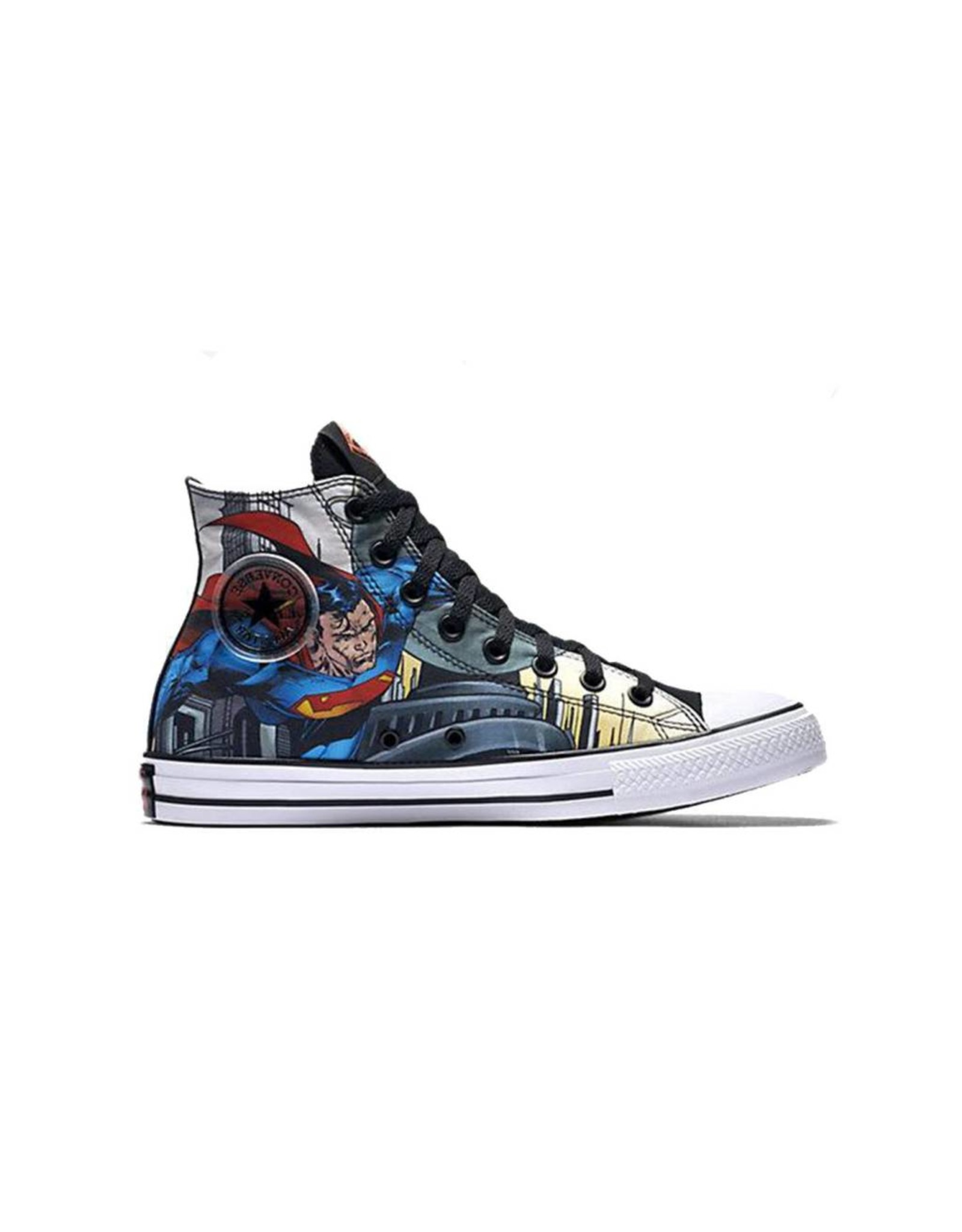 CONVERSE CHUCK TAYLOR HI BLACK/BLUE/WHITE DC COMICS SUPERMAN C16SUP-154875C