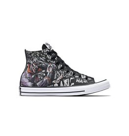 CONVERSE CHUCK TAYLOR HI CANVAS BLACK/GRAY/WHITE DC COMICS JOKER  C16JOK-154789C