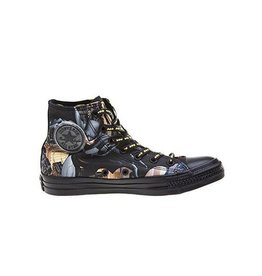 CONVERSE CHUCK TAYLOR HI CANVAS BLACK DC COMICS BATMAN C15BAT -150505c