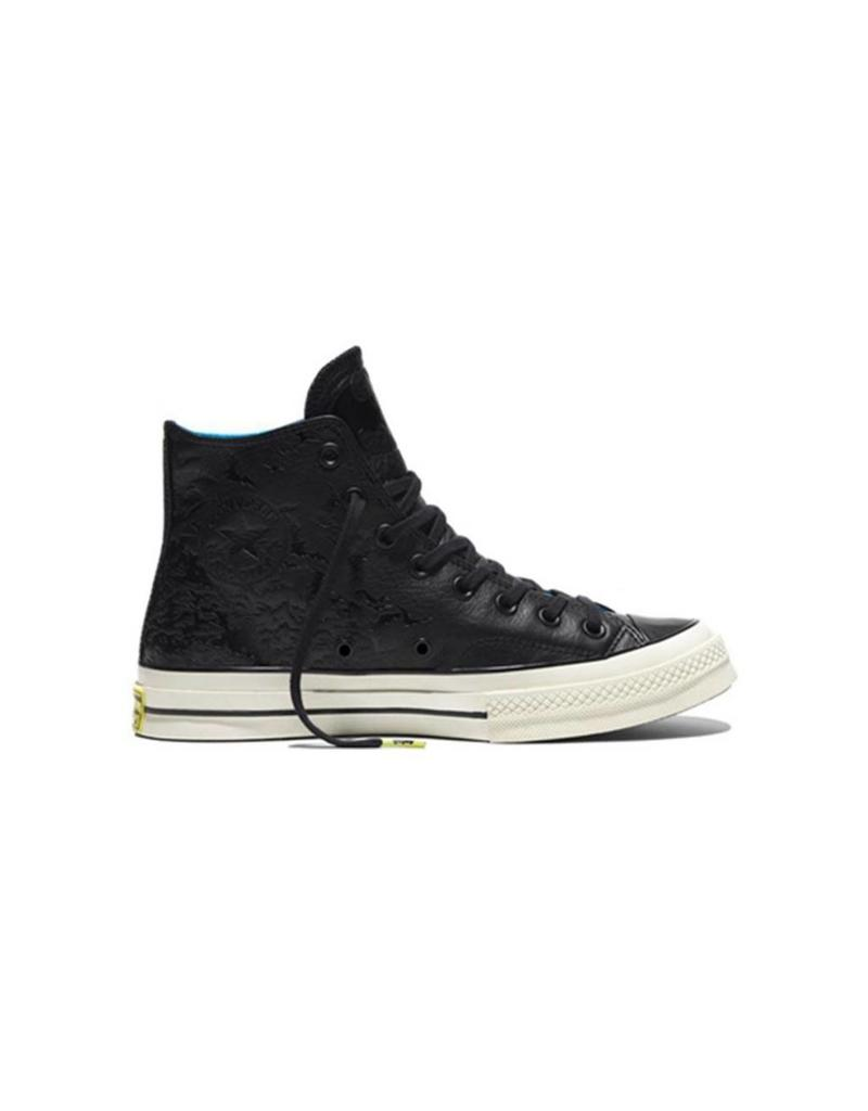 CONVERSE CHUCK TAYLOR 70 HI CUIR BLACK/SPRAY PAINT BLUE/EGRET DC COMICS BATMAN CC16BAT-155358C