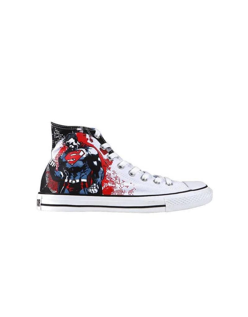 CONVERSE CHUCK TAYLOR DC SUPERMAN HI WHITE RED C12SWR-119938
