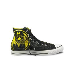 CONVERSE CHUCK TAYLOR  HI CANVAS BLACK YELLOW DC COMICS BATMAN C12BBY-119939c