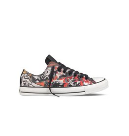 CONVERSE CHUCK TAYLOR  OX CANVAS BLACK MULTI DC COMICS BATMAN C5BATR-125559C