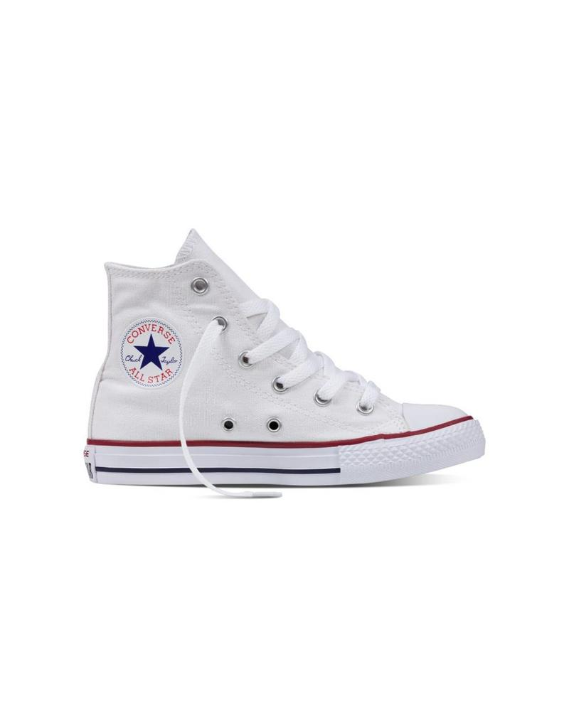 CONVERSE YOUTH CHUCK TAYLOR HI OPTICAL WHITE C3OP-3J253C
