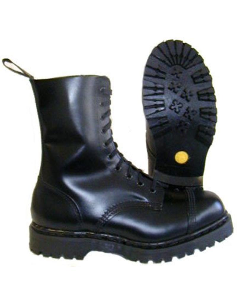 TREDAIR TREDAIR BOOT BLACK 10 EYELETS STEELTOE T1001B