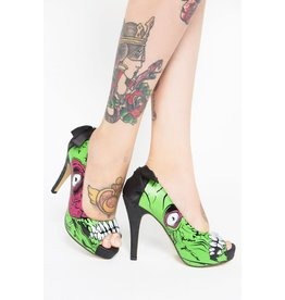 IRON FIST High heel zombie green IF1ZG