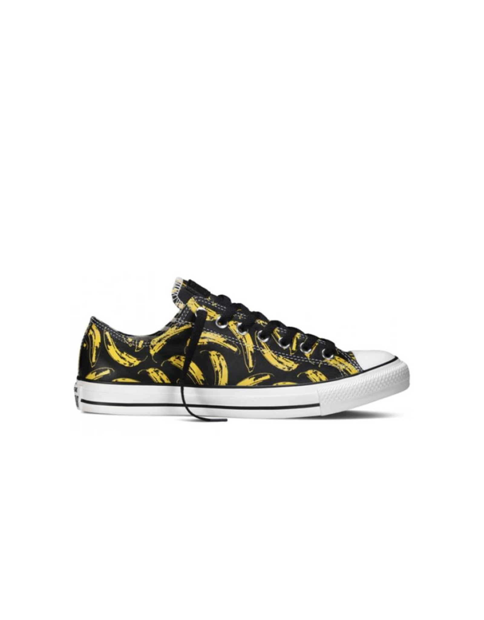 CONVERSE CHUCK TAYLOR WARHOL OX BLACK WHITE LEATHER ANDY WARHOL C9VU-149536C