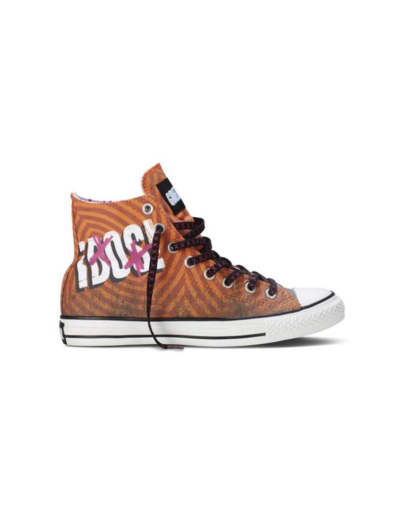 CONVERSE CHUCK TAYLOR GREEN DAY HI Dark Orange C13GDO-137824C
