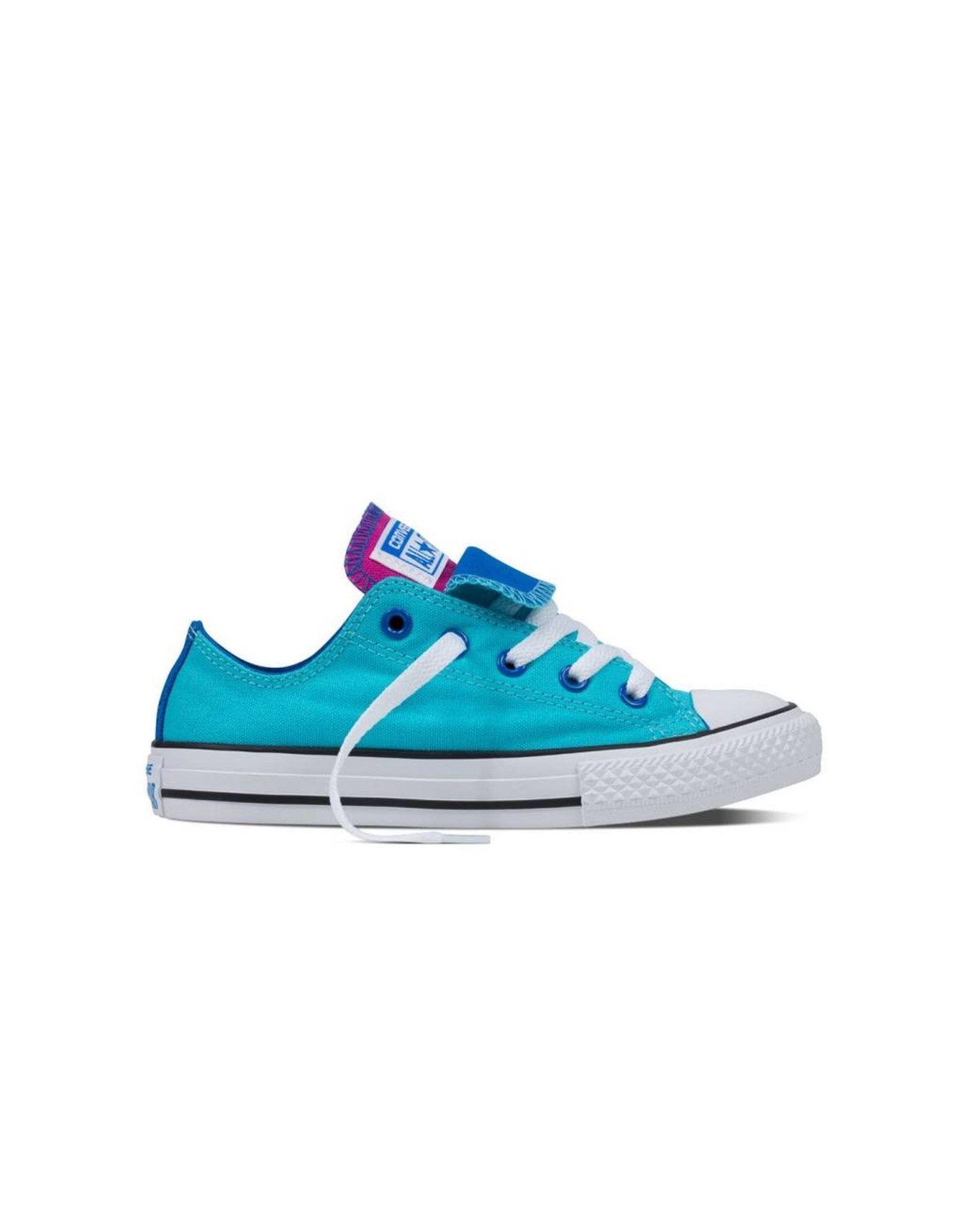 CONVERSE CHUCK TAYLOR DOUBLE TONGUE OX FRESH CYAN/SOAR CWDFC-656006C