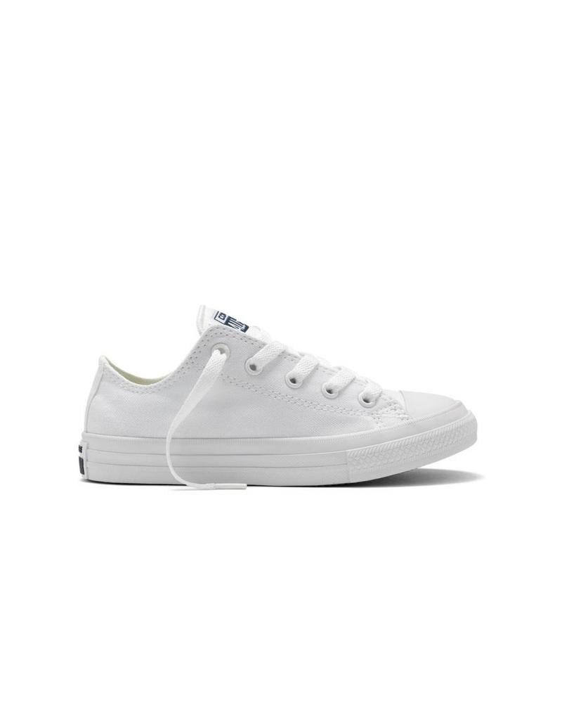 CONVERSE CHUCK TAYLOR II OX WHITE/WHITE/NAVY CV2LW-350154C