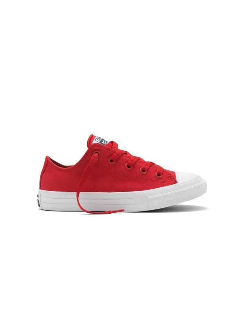 CONVERSE CHUCK TAYLOR II OX SALSA RED/WHITE/NAVY CV2LR-350151C