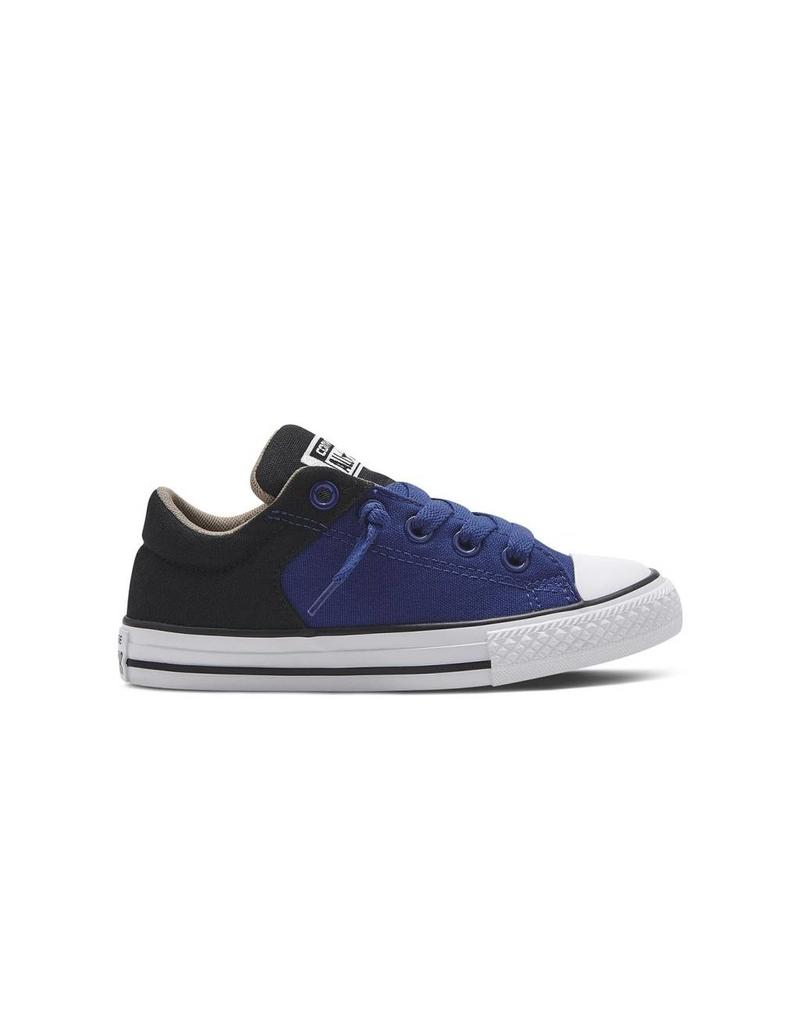 CONVERSE CHUCK TAYLOR ALL STAR HIGH STREET SLIP BLUE BLACK CVHSBB-651739C