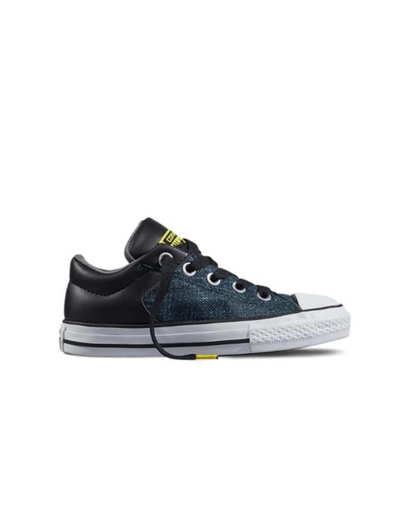 CONVERSE CHUCK TAYLOR ALL STAR HIGH STREET SLIP BLACK YELLOW CVHSBW-651784C