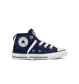 CONVERSE CHUCK TAYLOR SYDE STREET MID LEATHER MIDNIGHT NAVY CCW96N-657539C