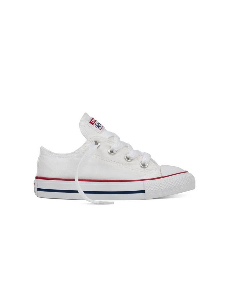 CONVERSE INFANT CHUCK TAYLOR OX OPTICAL WHITE CJOPJ-7J256C
