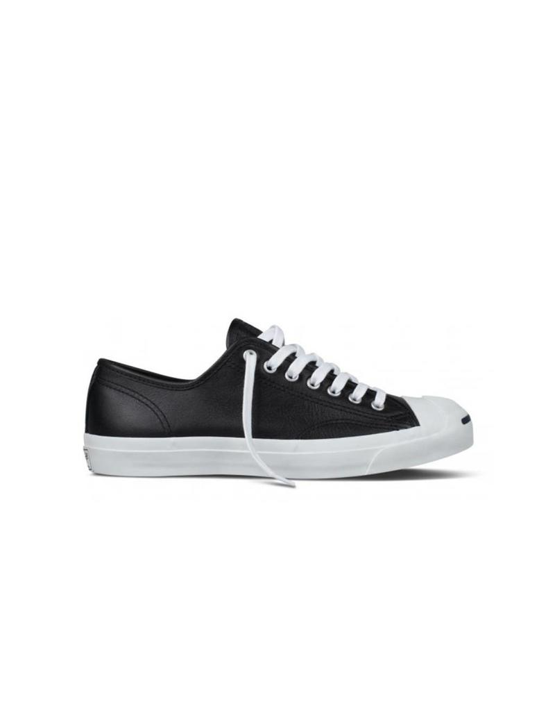 CONVERSE JACK PURCELL LEATHER OX BLK/WHITE CC69B-1S962