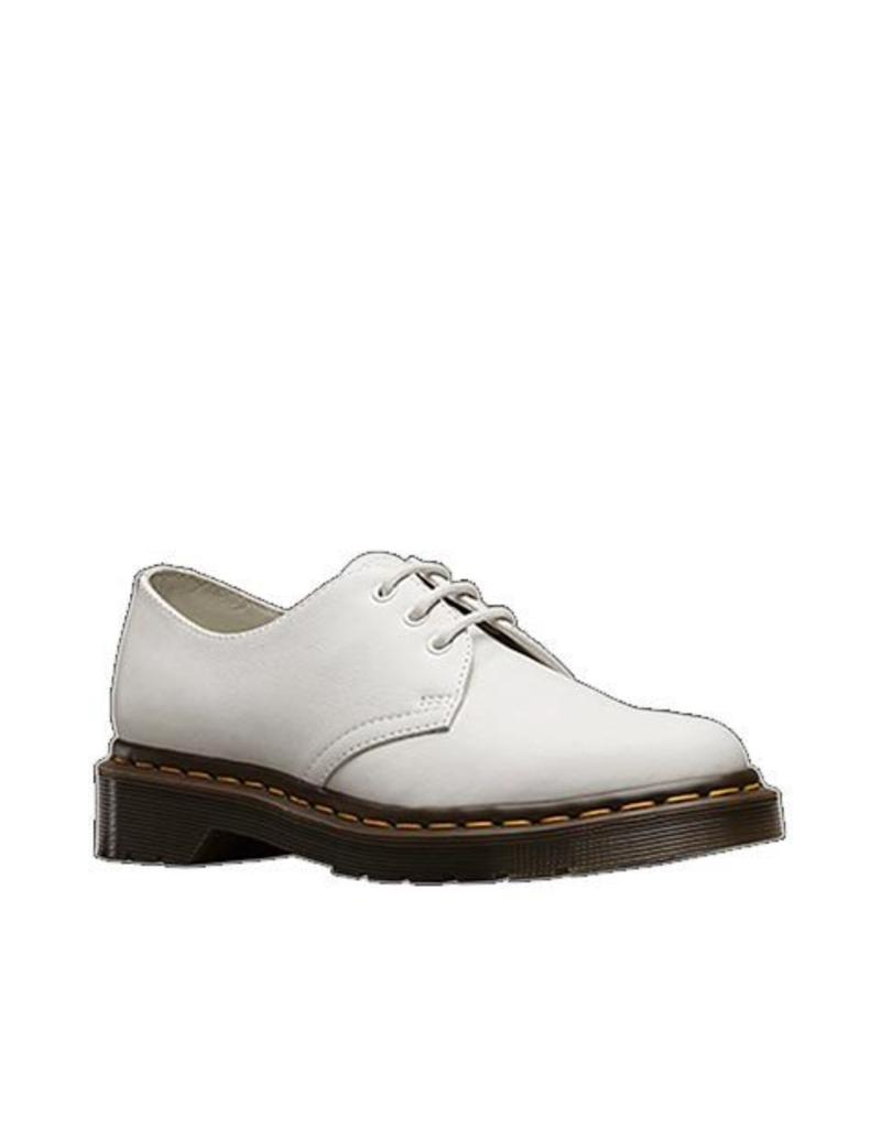 DR. MARTENS 1461W WHITE SMOOTH 301W