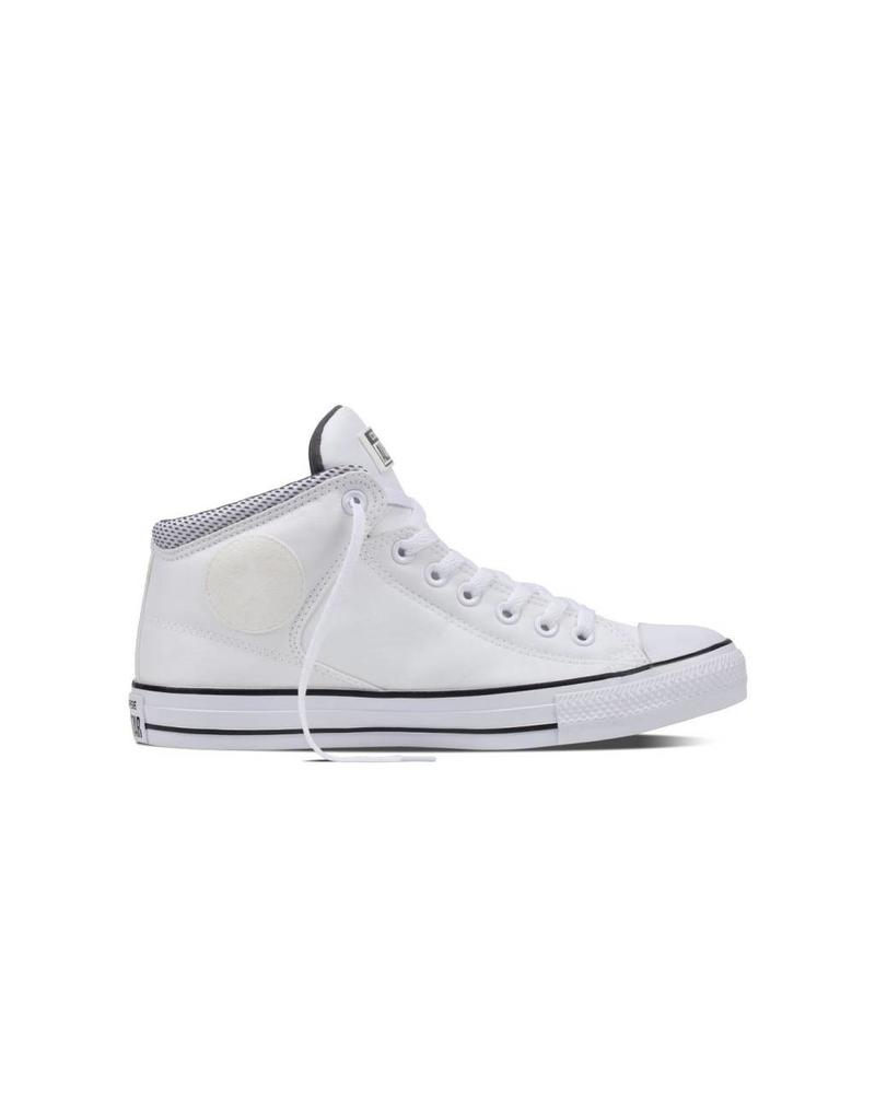 CONVERSE CHUCK TAYLOR HIGH STREET HI WHITE/BLACK/THUNDER C798BAW-155473C