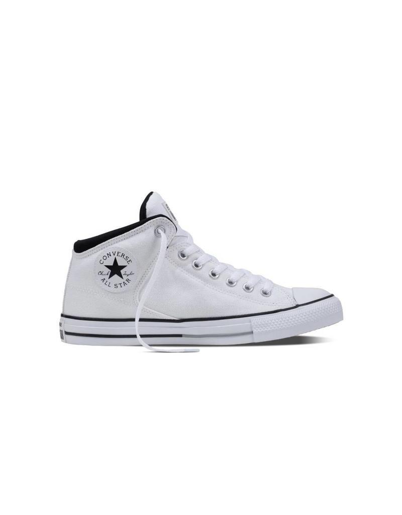 CONVERSE CHUCK TAYLOR HIGH STREET HI WHITE/BLACK/WHITE C798W-155469C