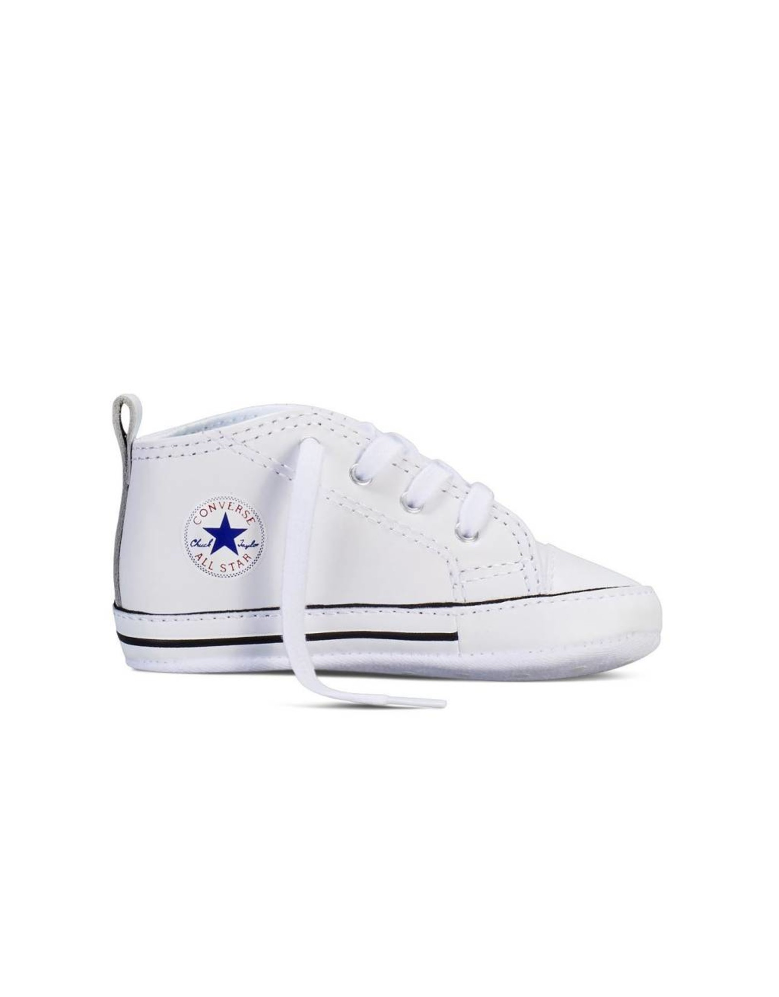 CONVERSE CHUCK TAYLOR FIRST STAR LEATHER HI WHITE CC12OP-81229