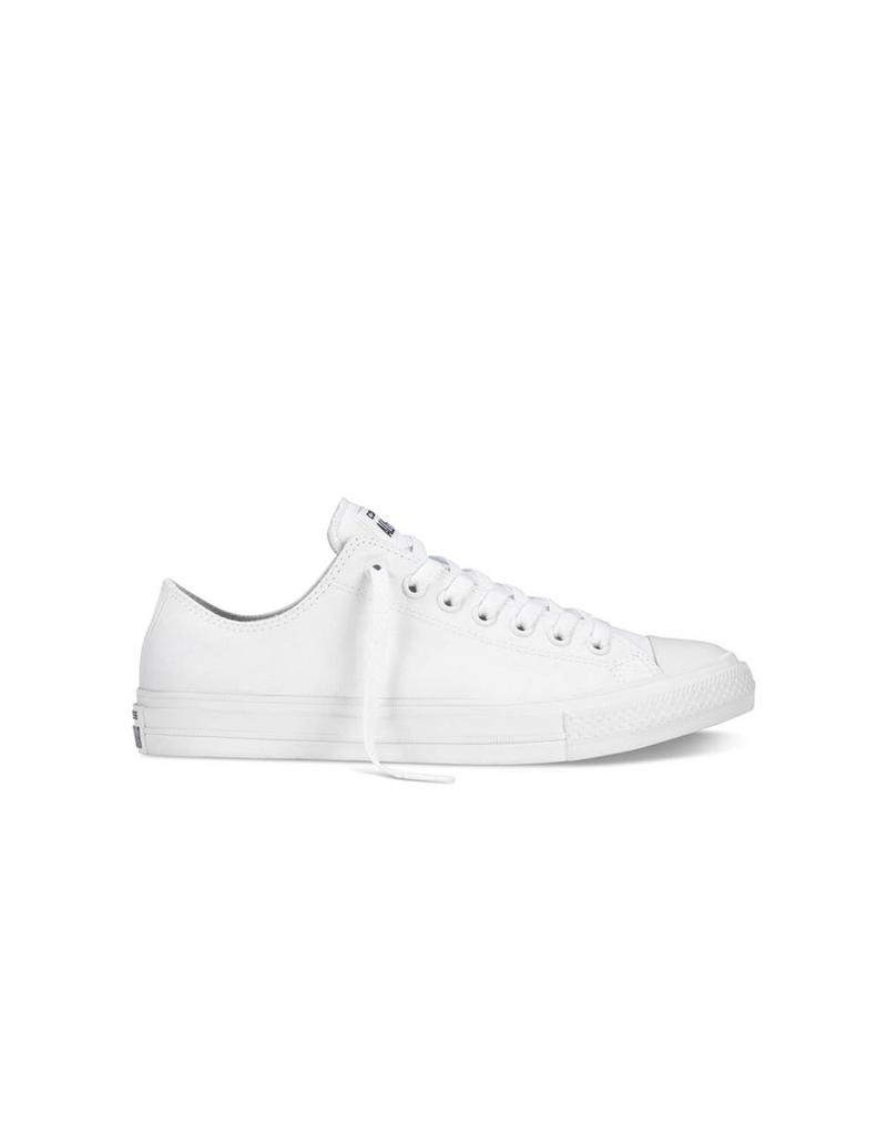 CONVERSE Chuck Taylor II OX WHITE WHITE NAVY CT2LW-150154C